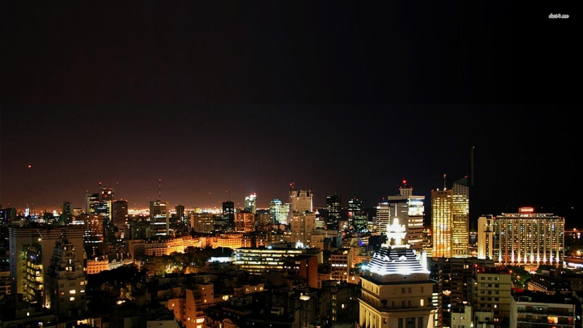 ... Buenos Aires at night wallpaper 1920x1080 ...