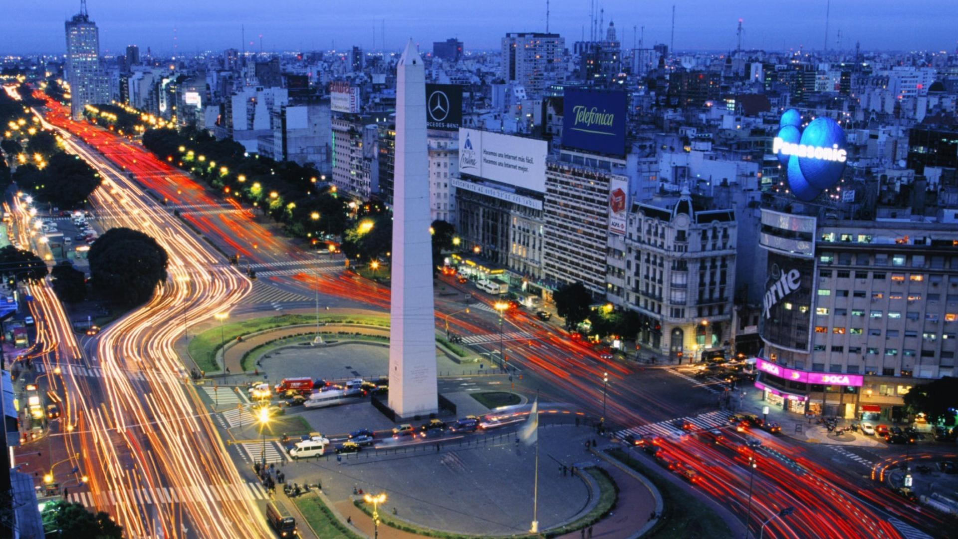 Cityscapes argentina obelisk buenos aires wallpaper
