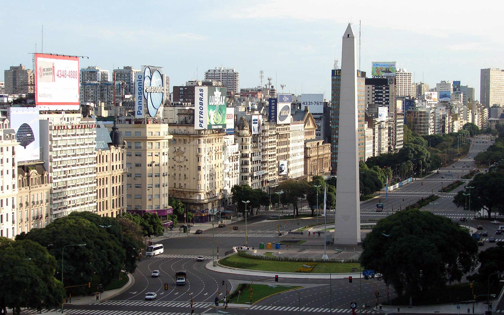 Buenos Aires Palermo Obelisk wallpaper