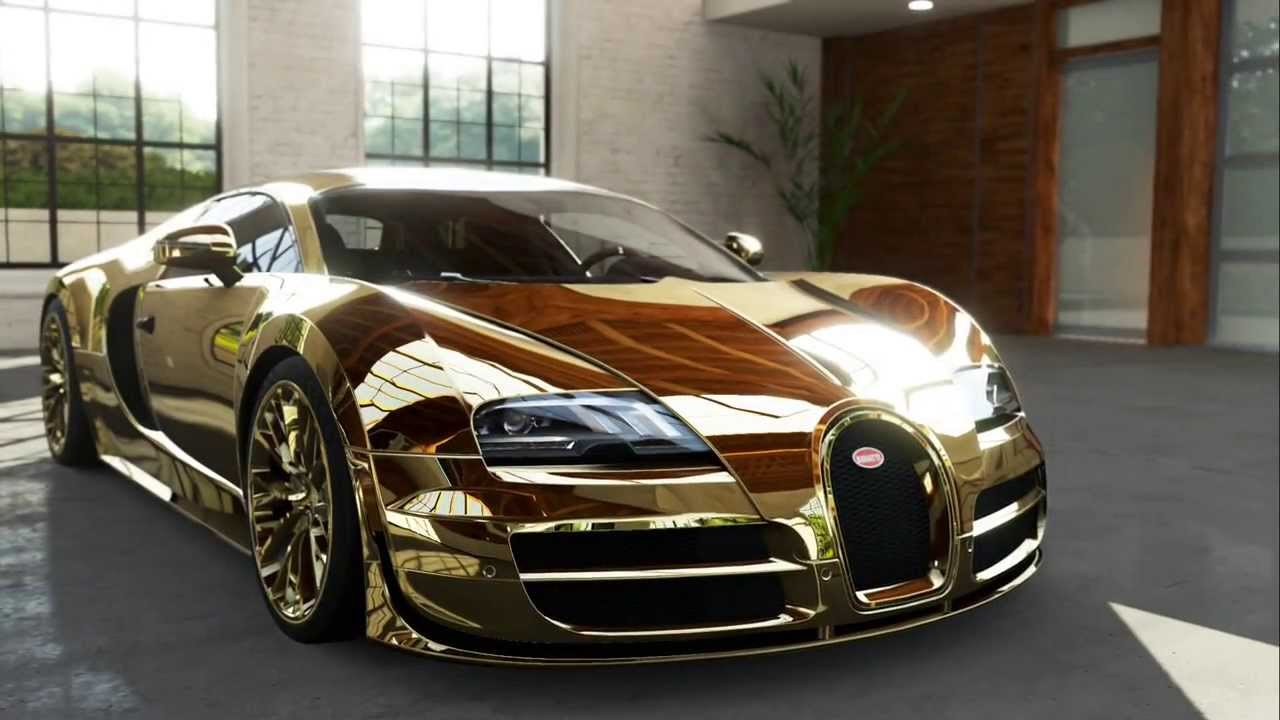 Bugatti Veyron Super Sport GOLD: Inside Look Forza Motorsport 5 Xbox One