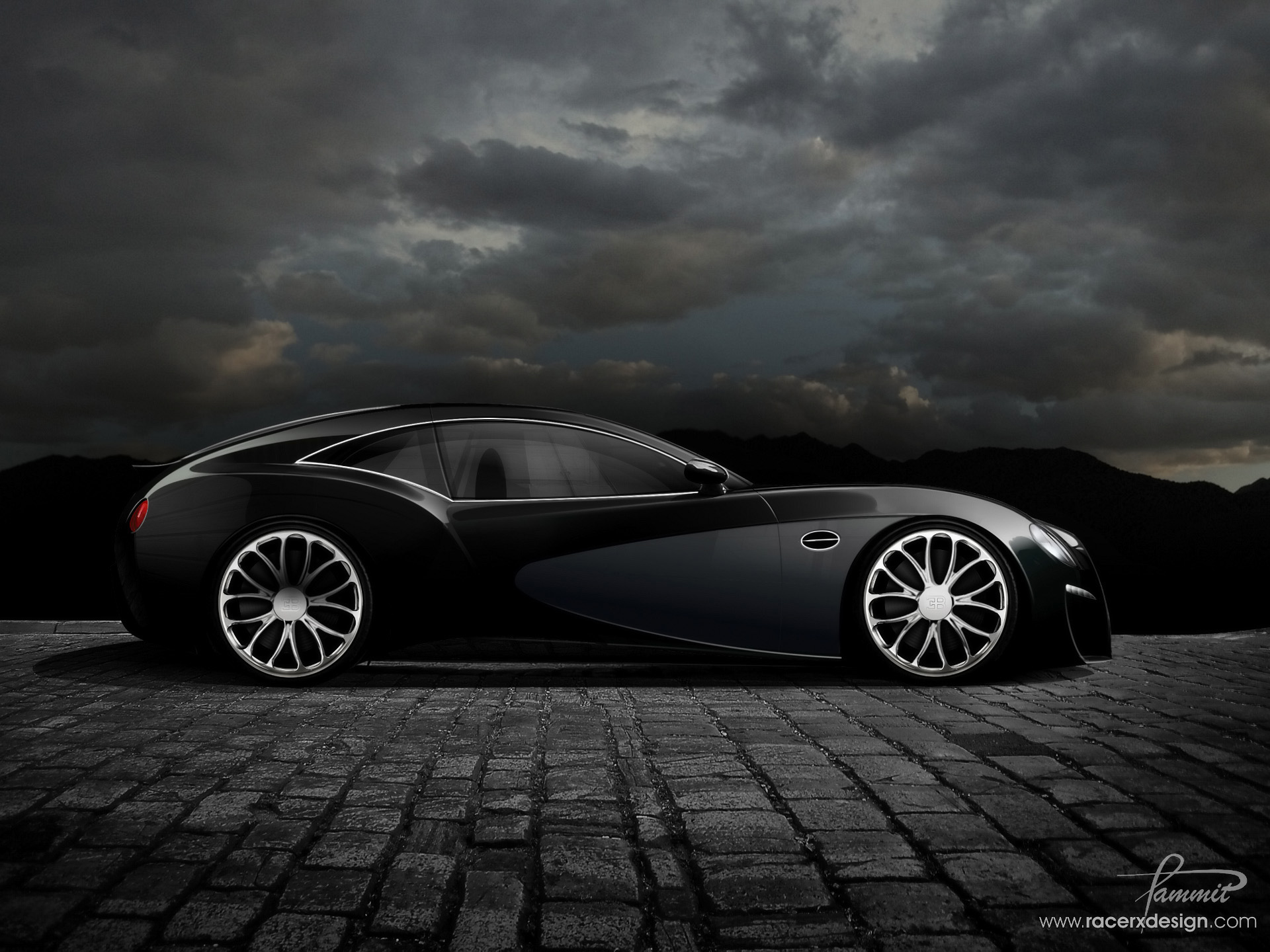 ... wallpaper of Bugatti ...