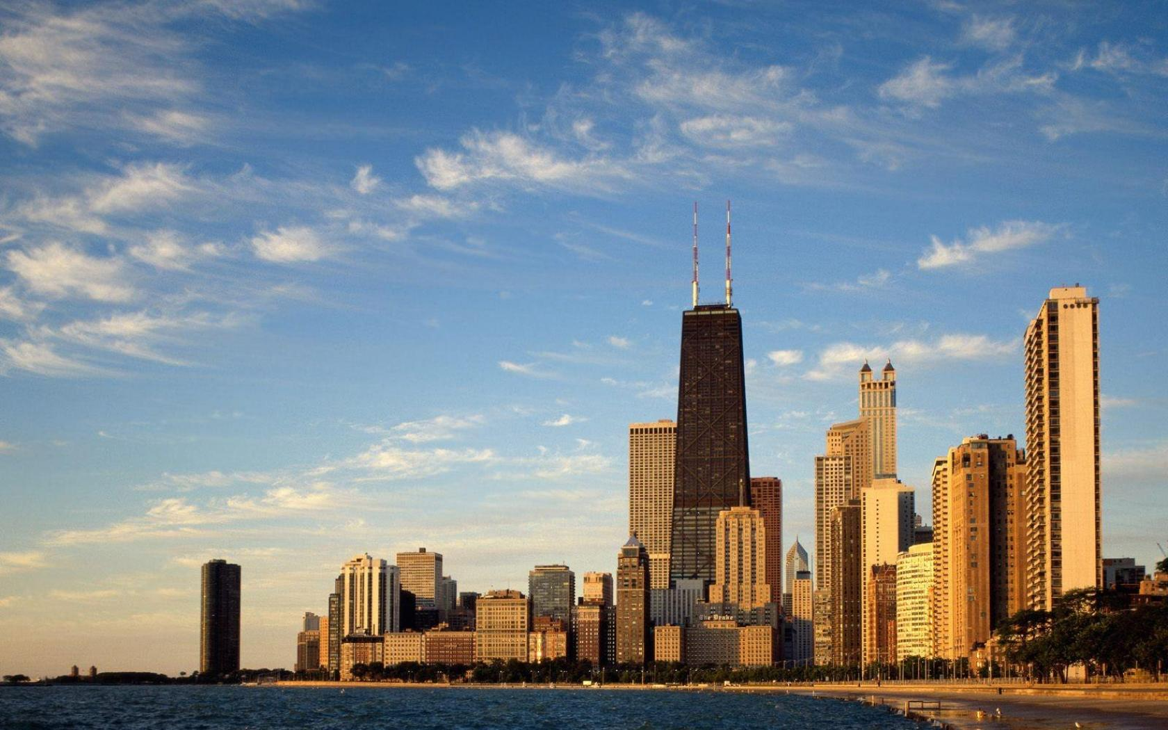 Normal resolutions: 1024x768 1280x1024. Wallpaper Tags: chicago city buildings ...