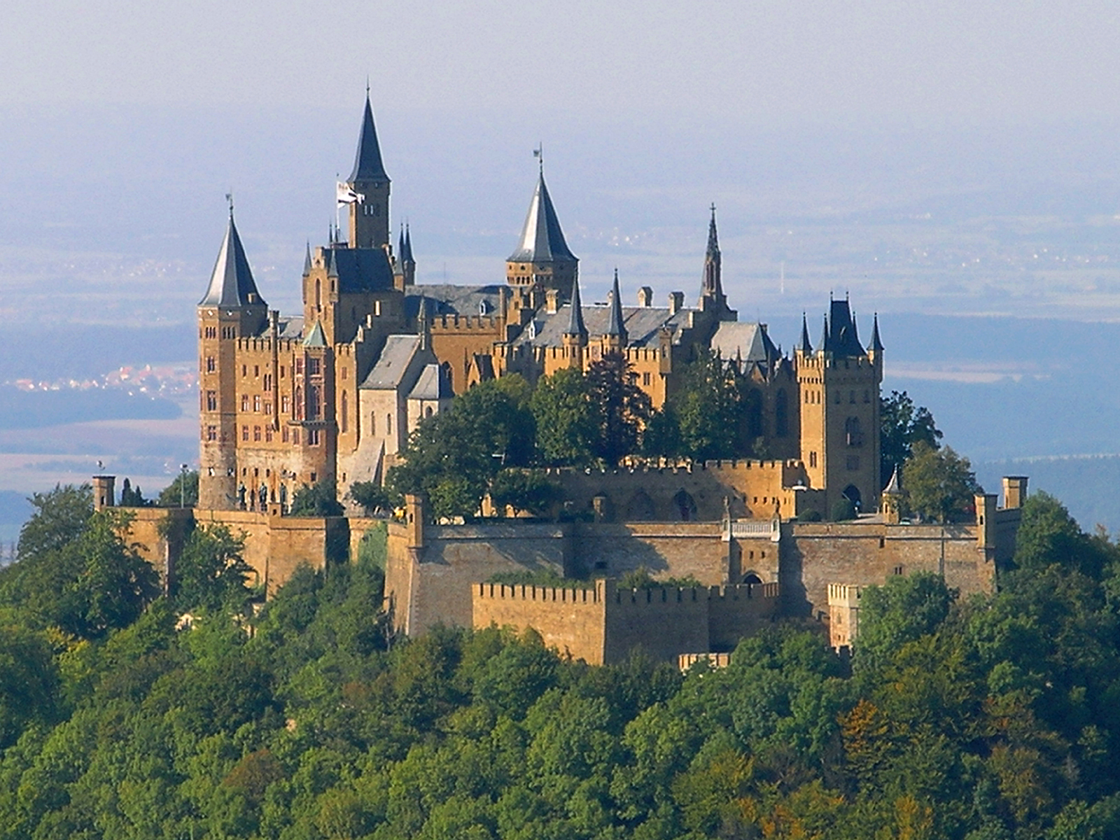 Burg hohenzollern germany