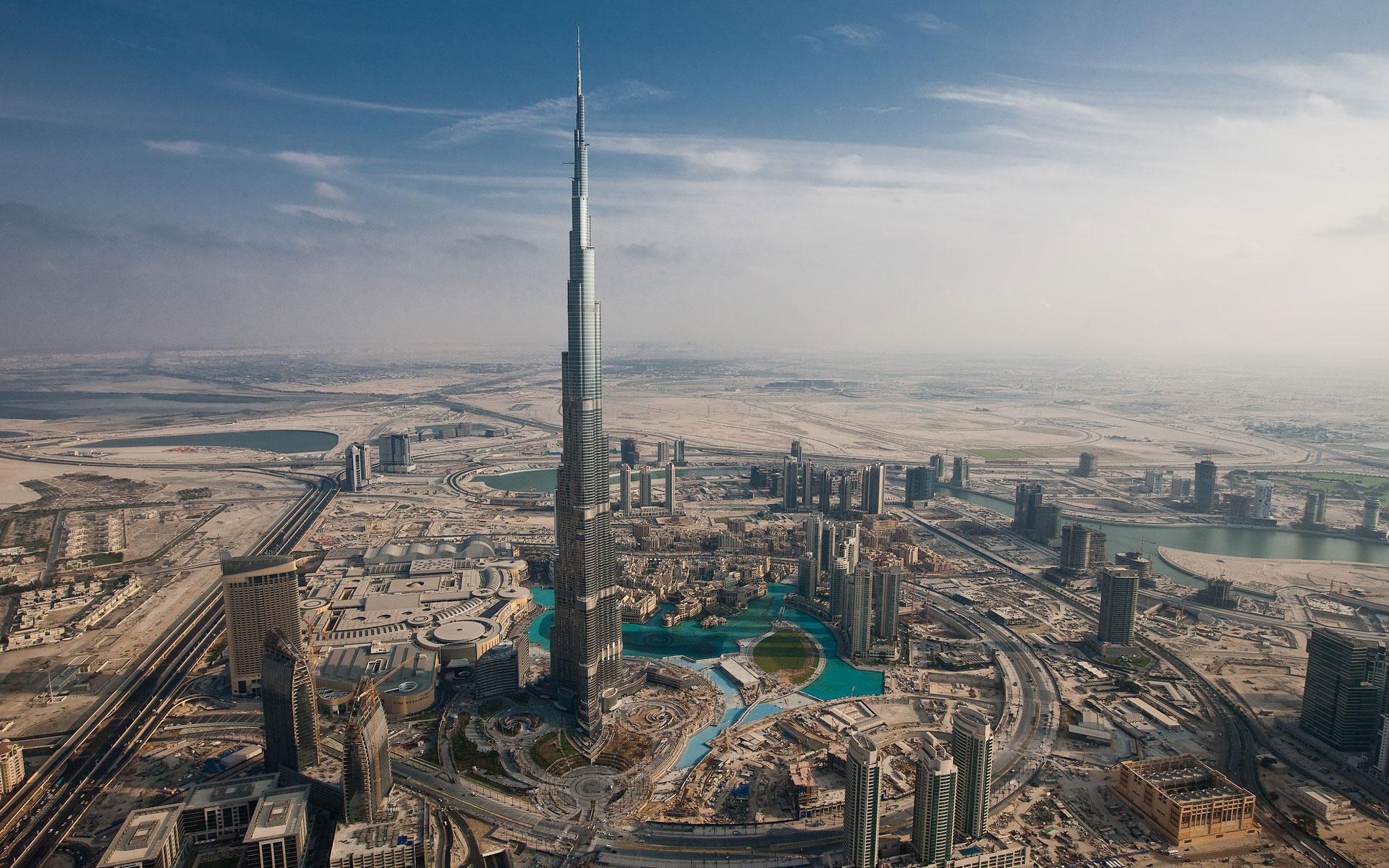 World's Highest Flyby: The Burj Khalifa, The Tallest Building In The World