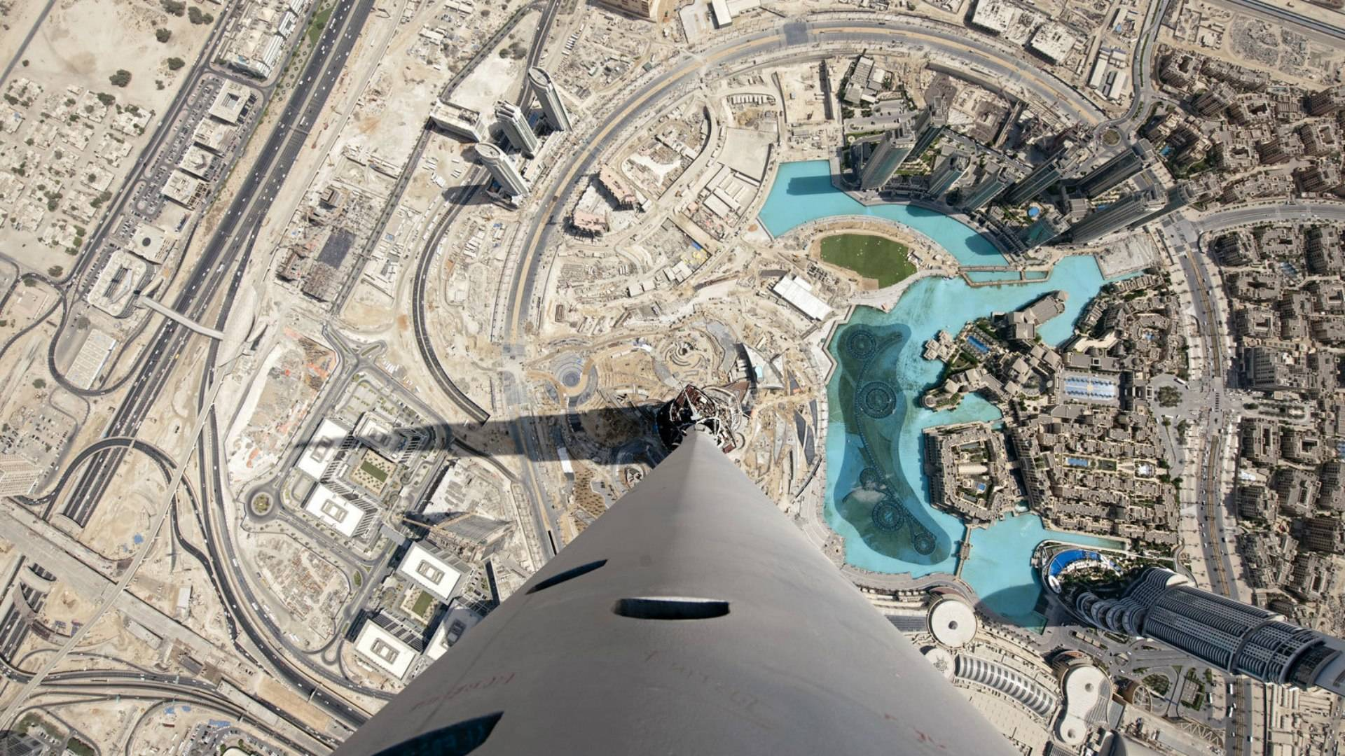 Burj Khalifa Dubay From Top