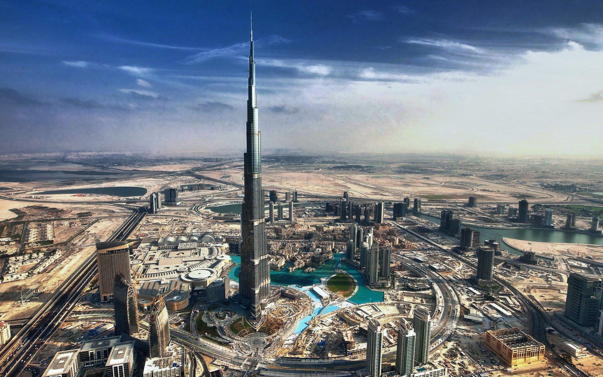 Fonds d'écran Burj Khalifa PC et Tablettes (iPad, etc...)
