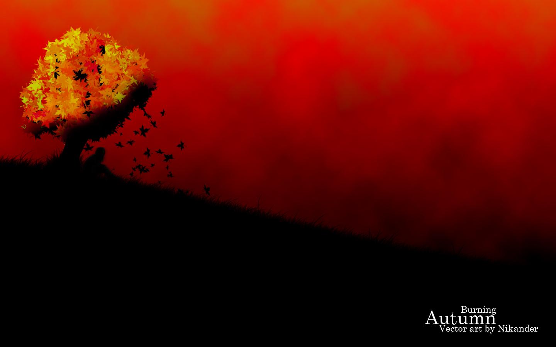 Burning Autumn by Nikander Burning Autumn by Nikander