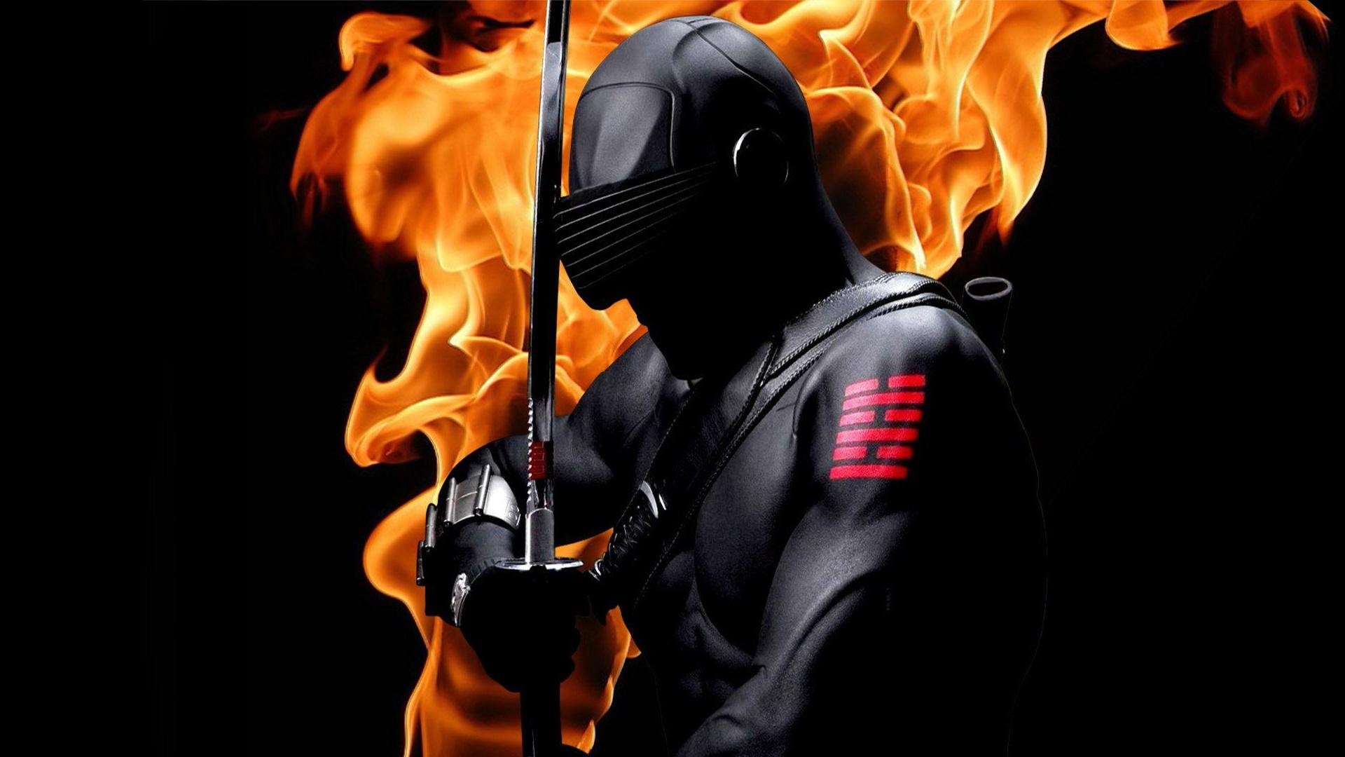 Burning ninja