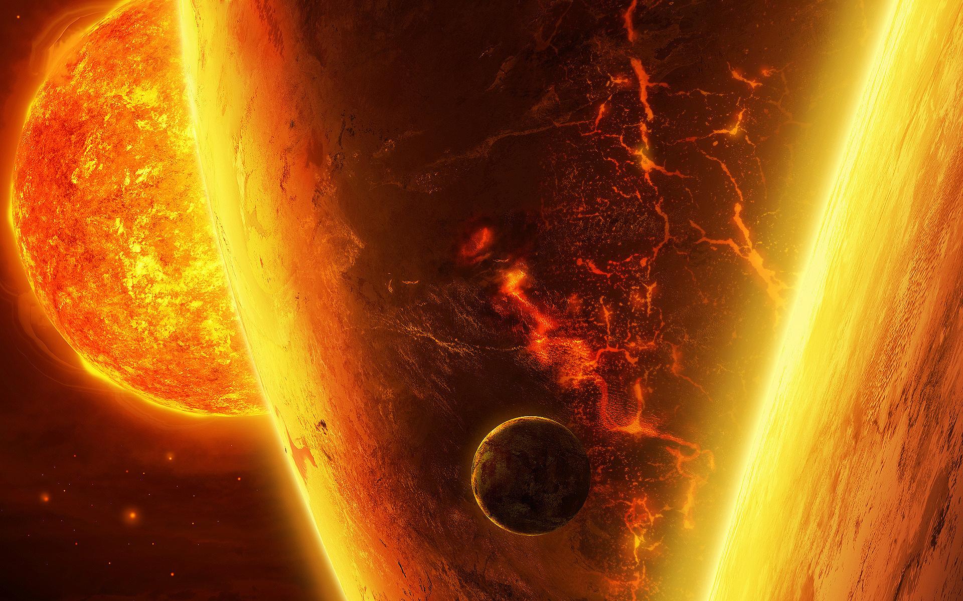 Burning Planets