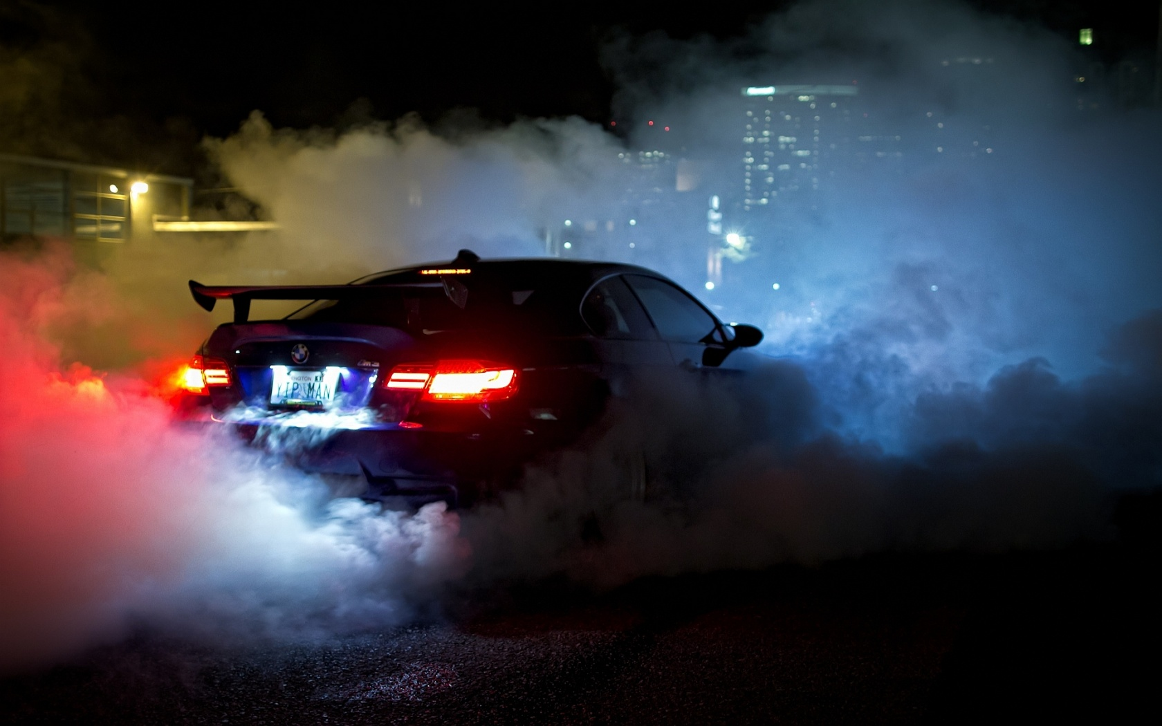 Bmw m3 e92 burnout Wallpaper in 1680x1050 Widescreen