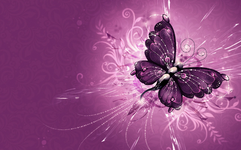 2880 x 1800 - 1962k - jpg 8653 Purple Butterfly ...
