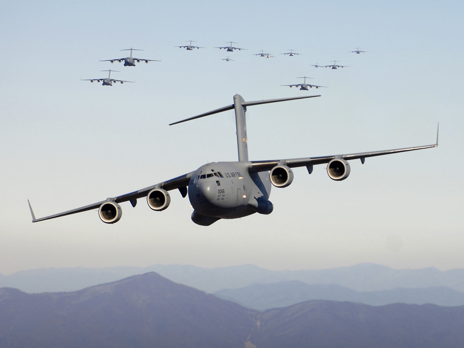 Desktop Wallpaper · Motors · Aircraft C-17 Globemaster III