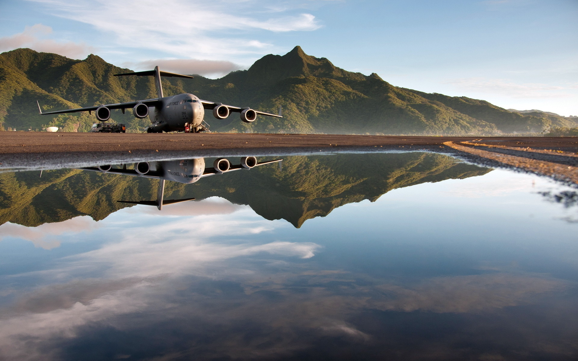 HD Wallpaper | Background ID:383971. 1920x1200 Military Boeing C-17 Globemaster III