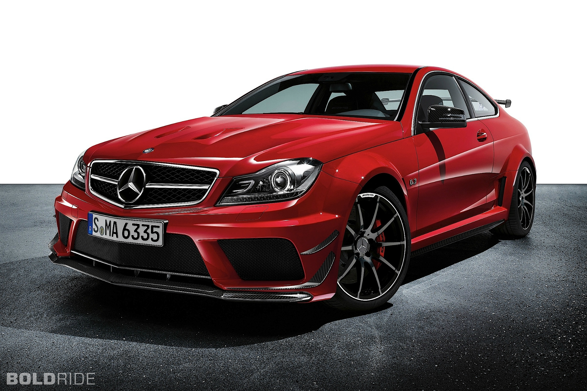2012 Mercedes-Benz C63 AMG Coupe Black Series 1600 x 1200
