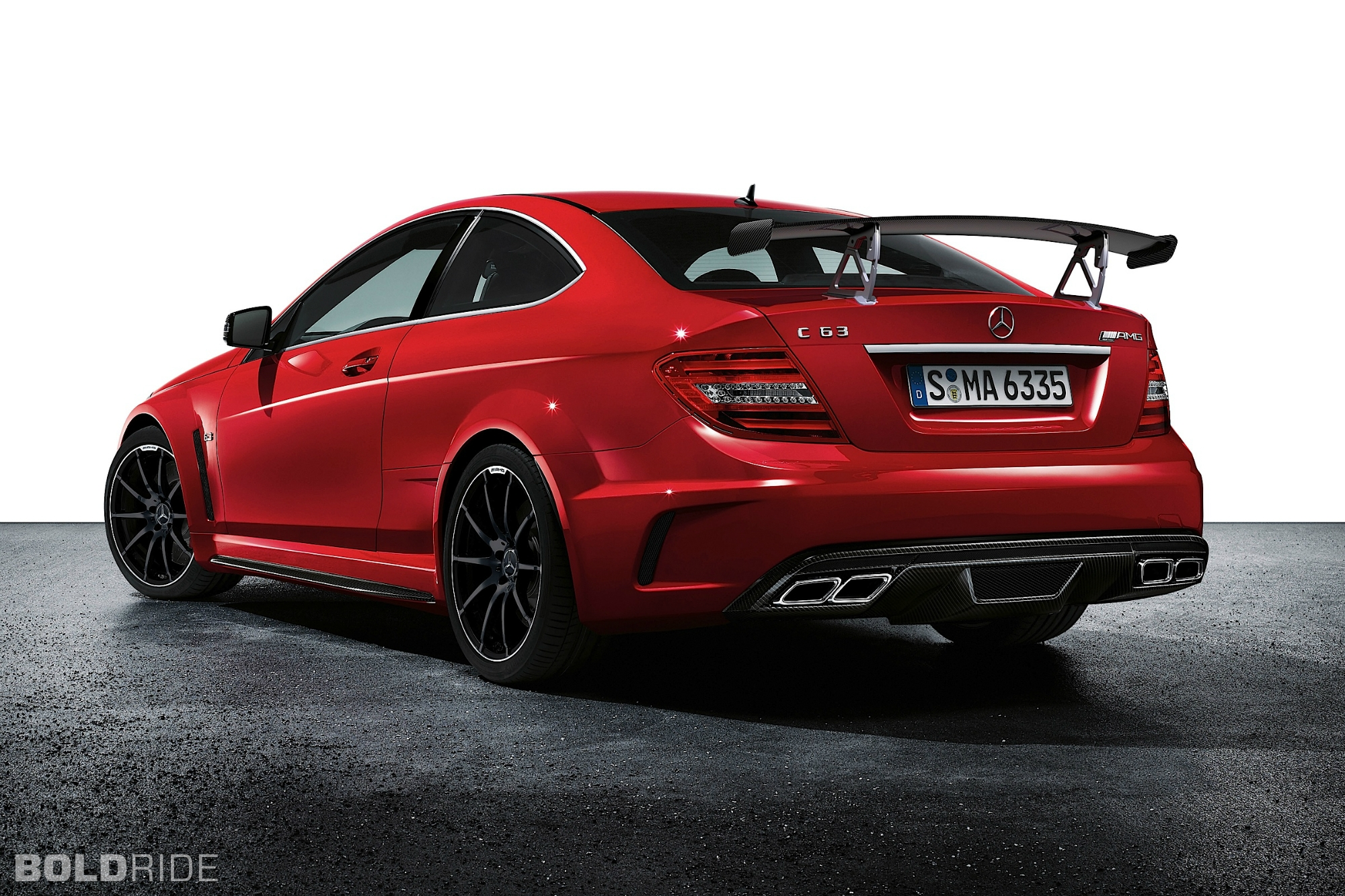 2012 Mercedes-Benz C63 AMG Coupe Black Series 2000 x 1333