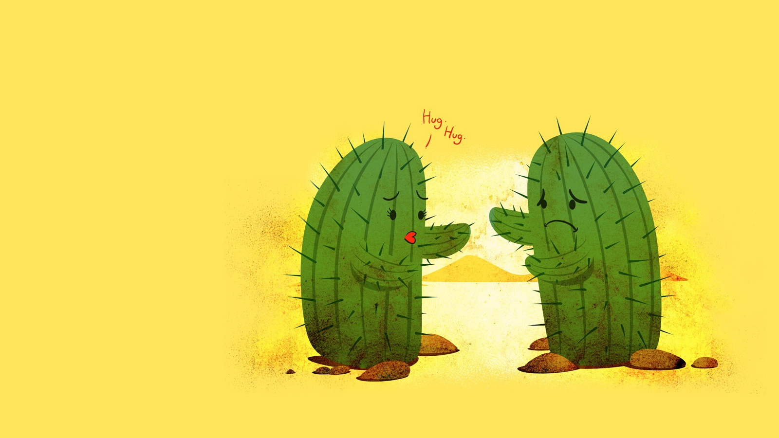 Bleach Girl Hug Cactus Download Free Photos