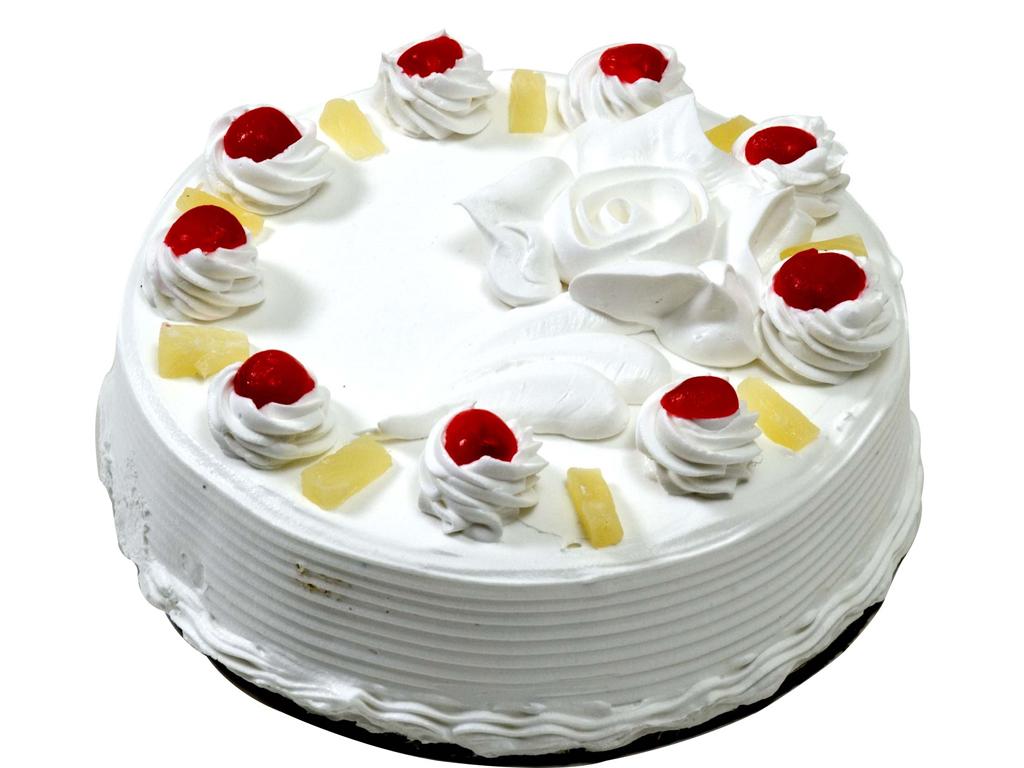 Vanilla Birthday Cake Photo