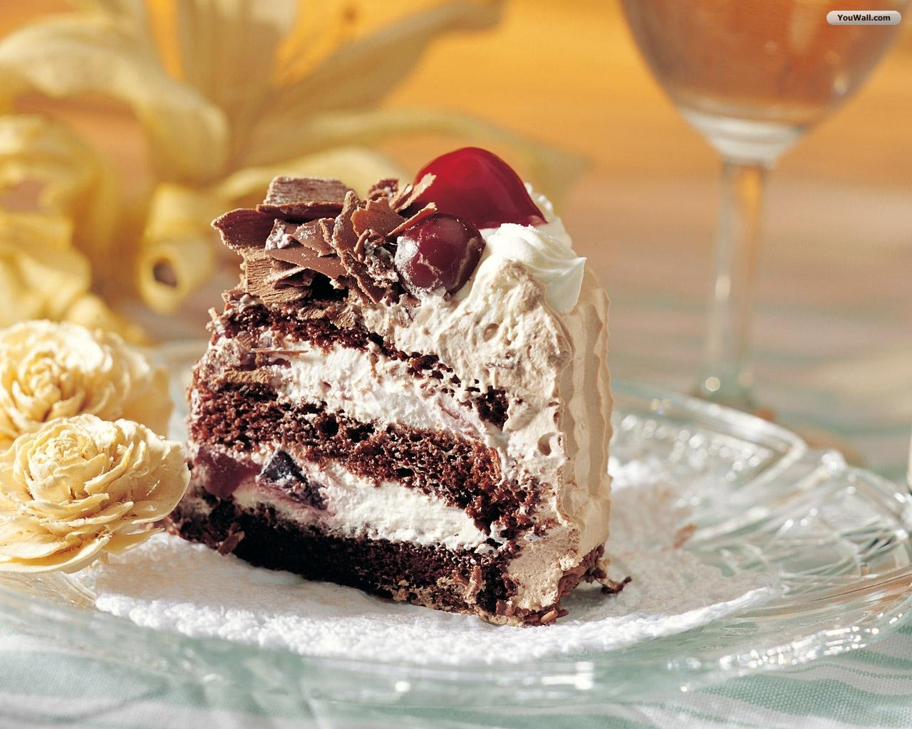Chocolate Cake Wallpaper Hd Wallpapers