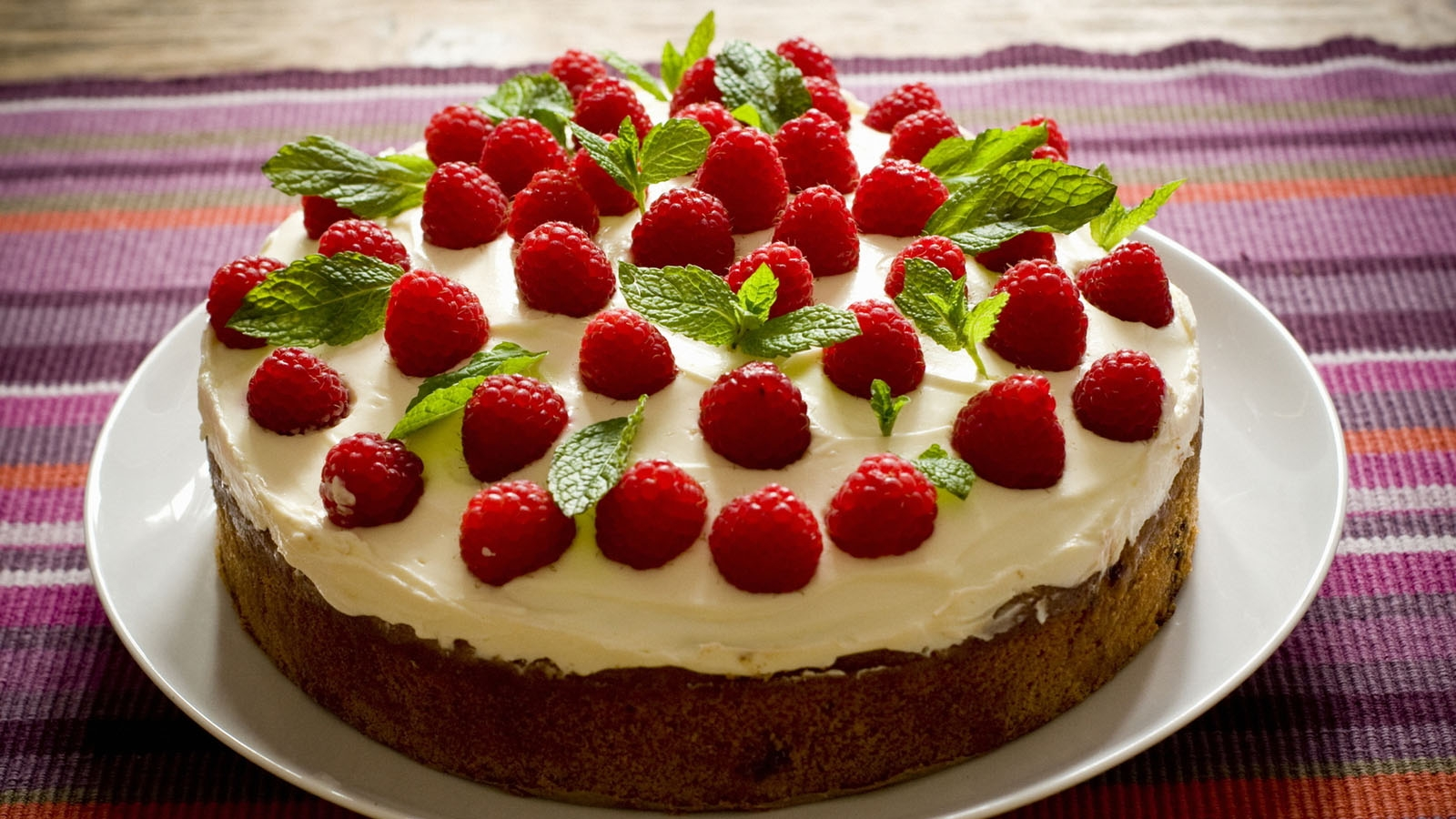 A Pan of Strawberry Cake
