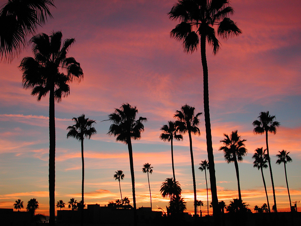 California Sunset Pictures
