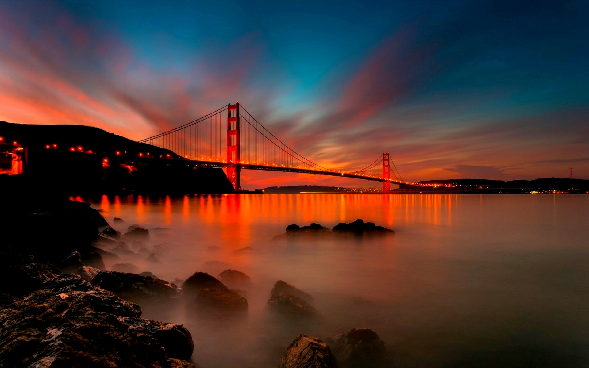 Amazing California Sunset