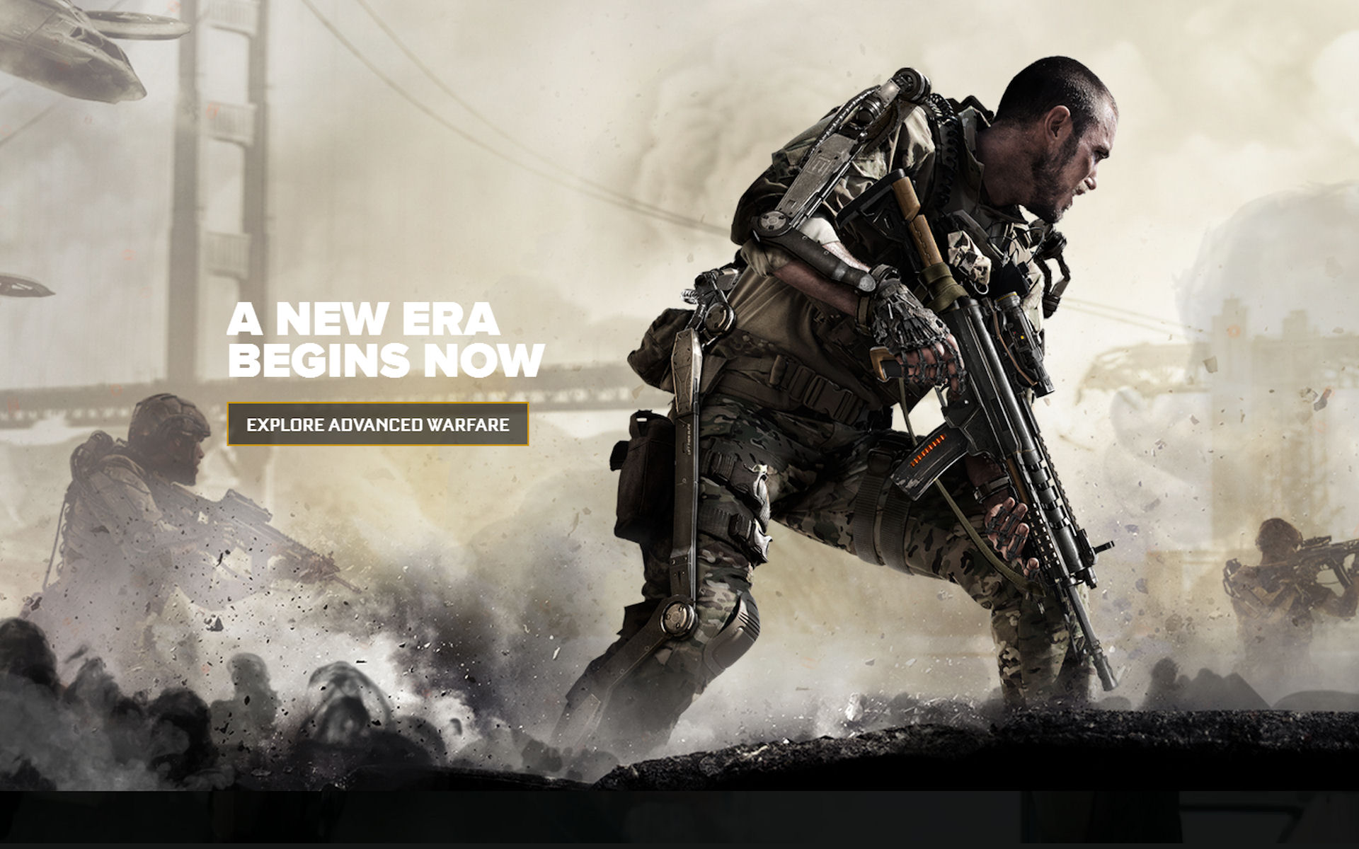 Call of Duty: Advanced Warfare Slogan Wallpaper