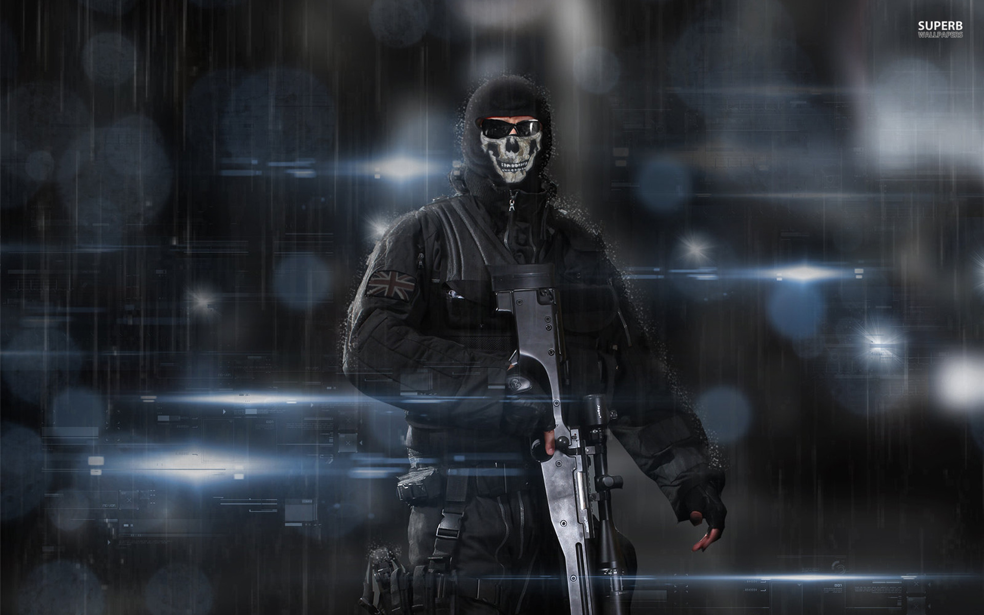 Call of Duty: Ghosts wallpaper 1920x1200 jpg