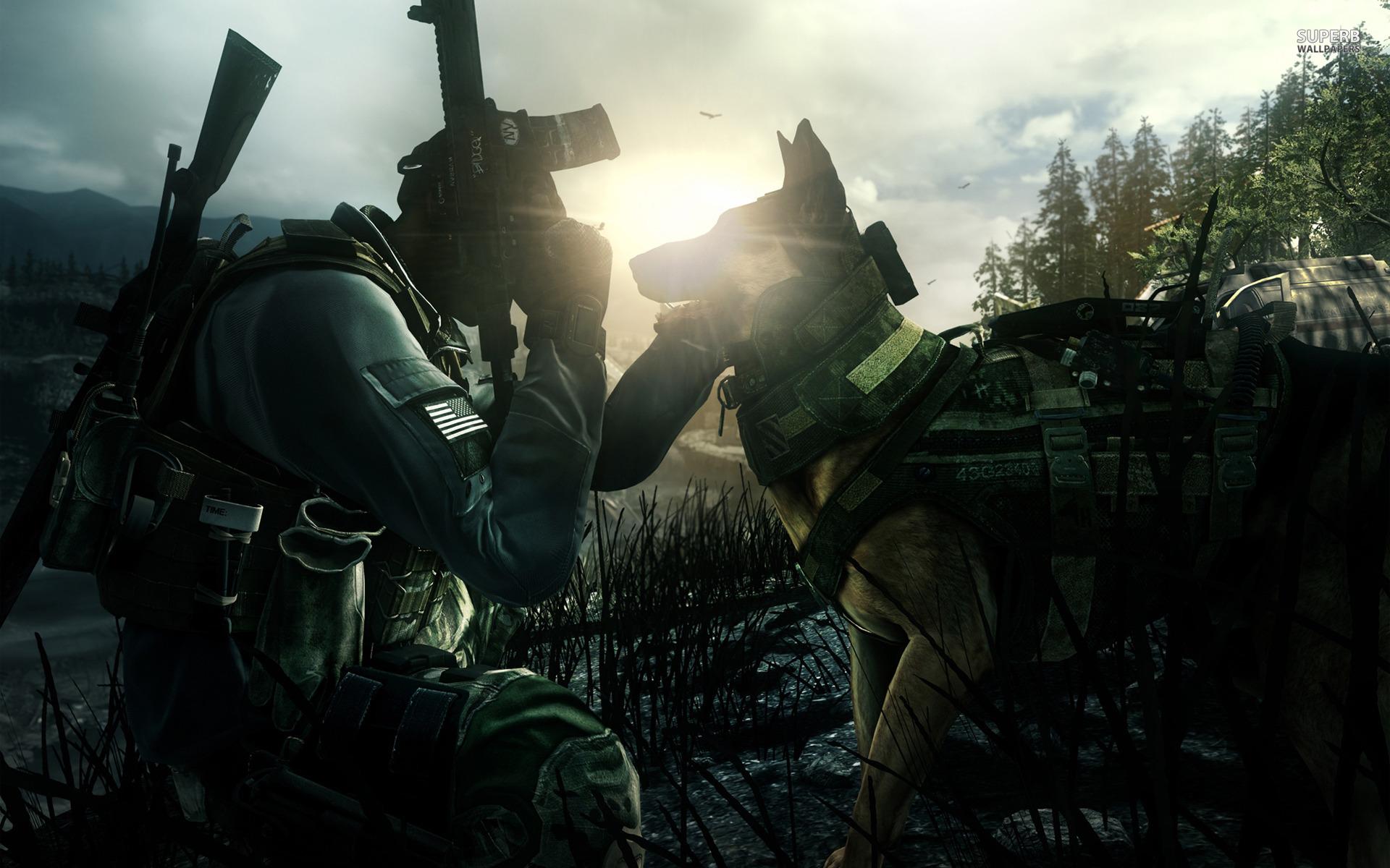 Call of Duty: Ghosts wallpaper 1920x1200 jpg