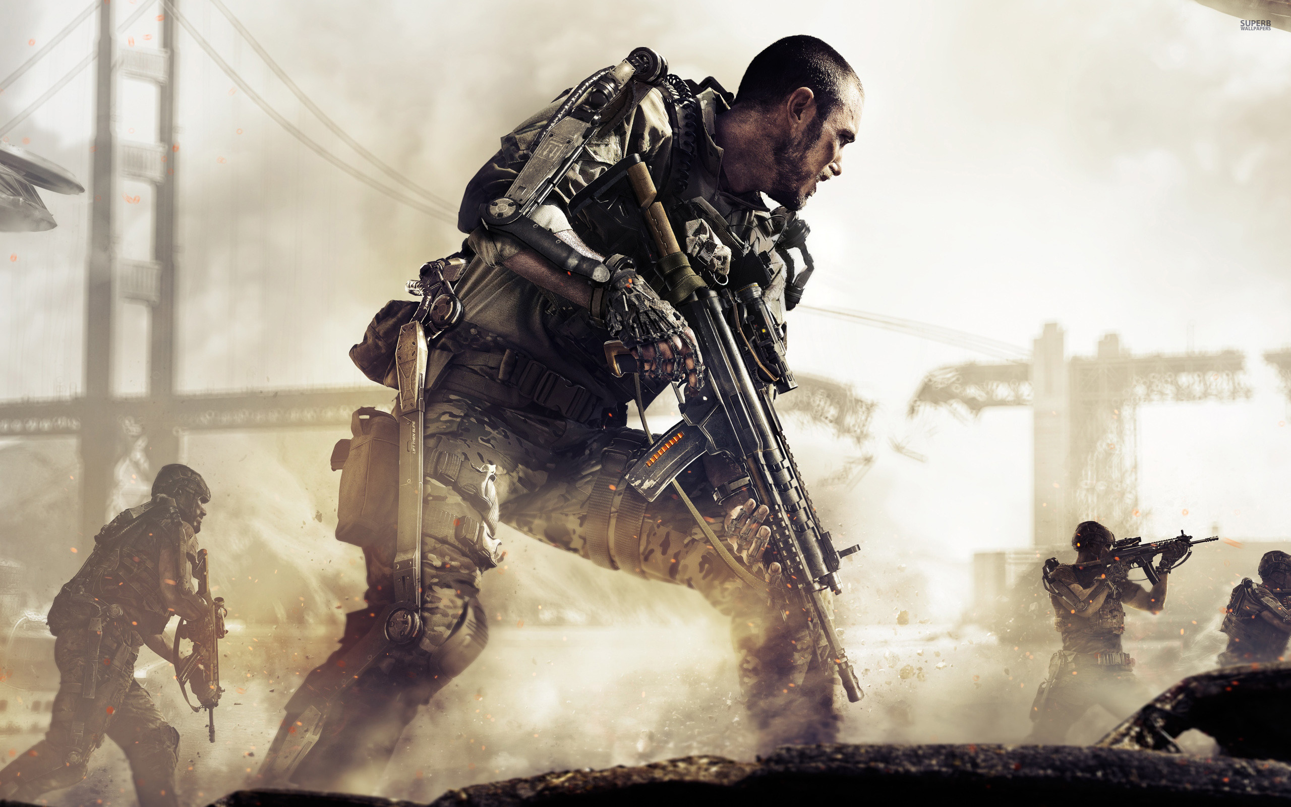 Call of Duty: Advanced Warfare wallpaper 2560x1600 jpg
