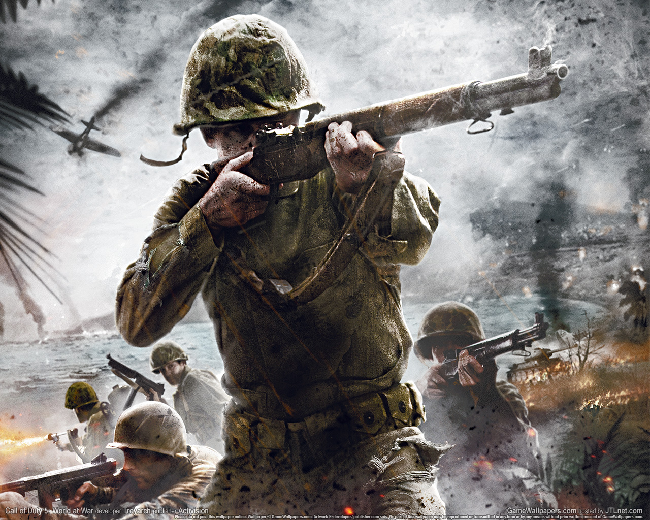 Wallpapers Call of Duty: World at War Games