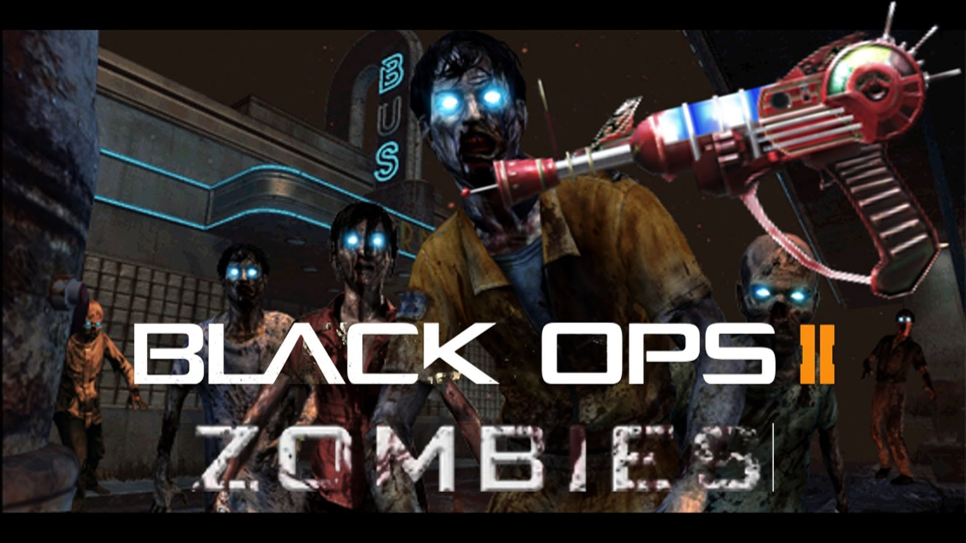 """BLACK OPS 2 ZOMBIES"" Weapons List - ALL Guns & Grenades! - (Call of Duty BO2 Zombies)"