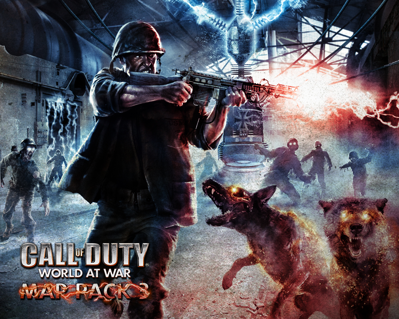 At the time Call Of Duty was routed in historical authenticity. They made Zombies a out of the way experience that only the most committed players would get ...