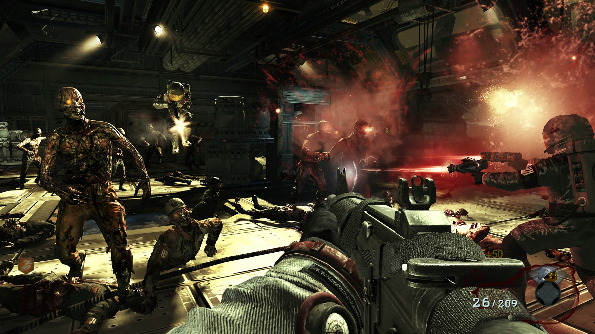 Call Of Duty Zombies Gameplay Wallpaper 1596