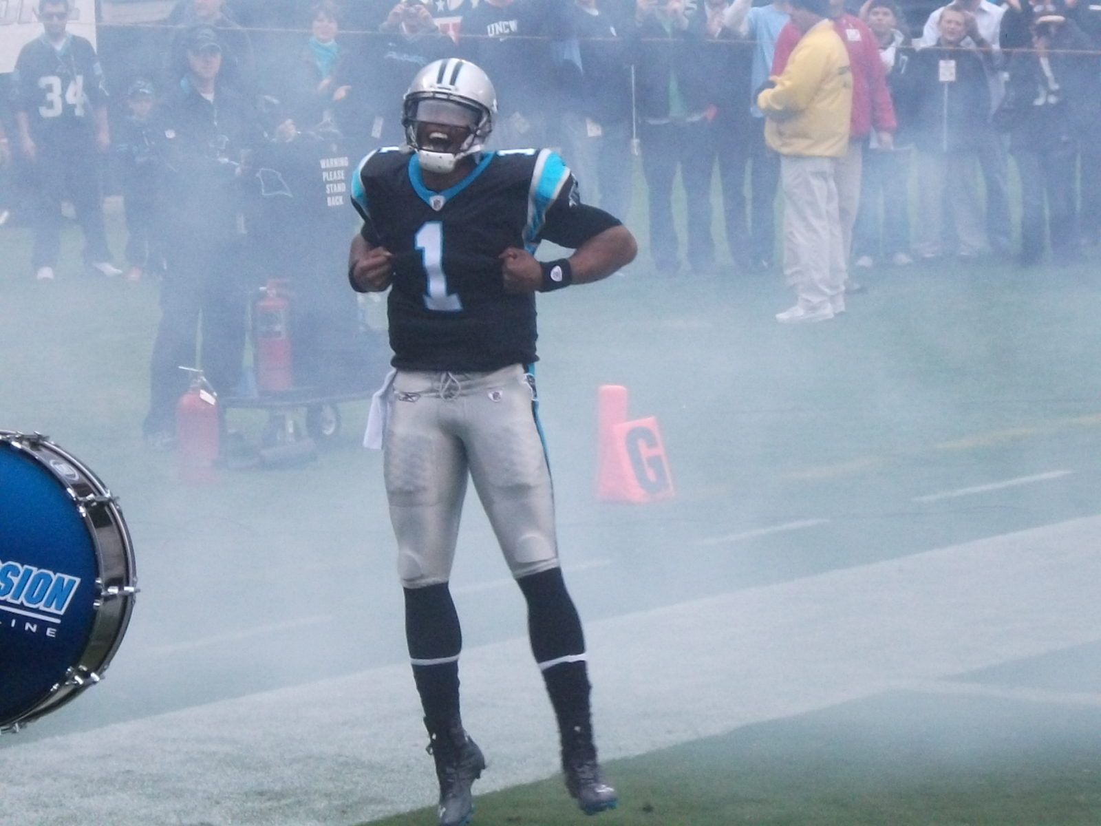 Newton coming out of the tunnel in 2011.