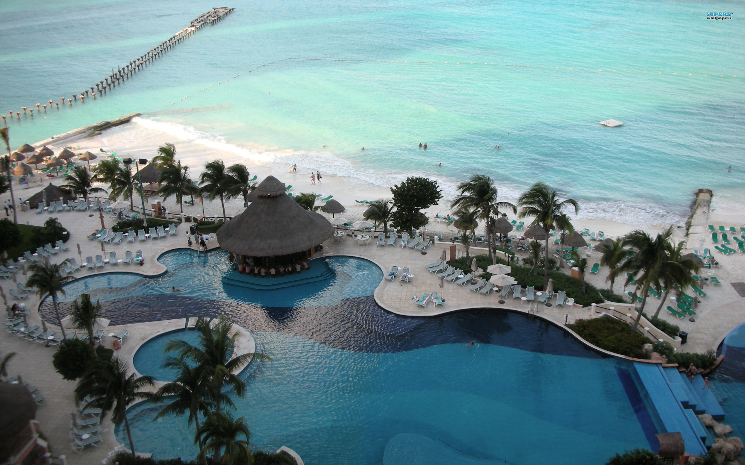 Cancun wallpaper 2560x1600