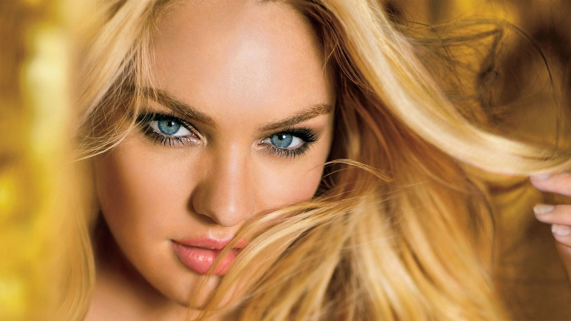 Candice Swanepoel Blonde Portrait