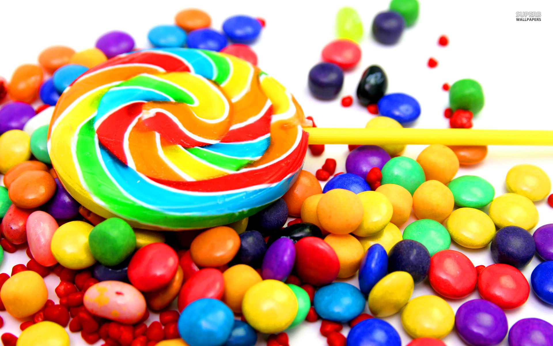 Colorful candy wallpaper 1920x1200