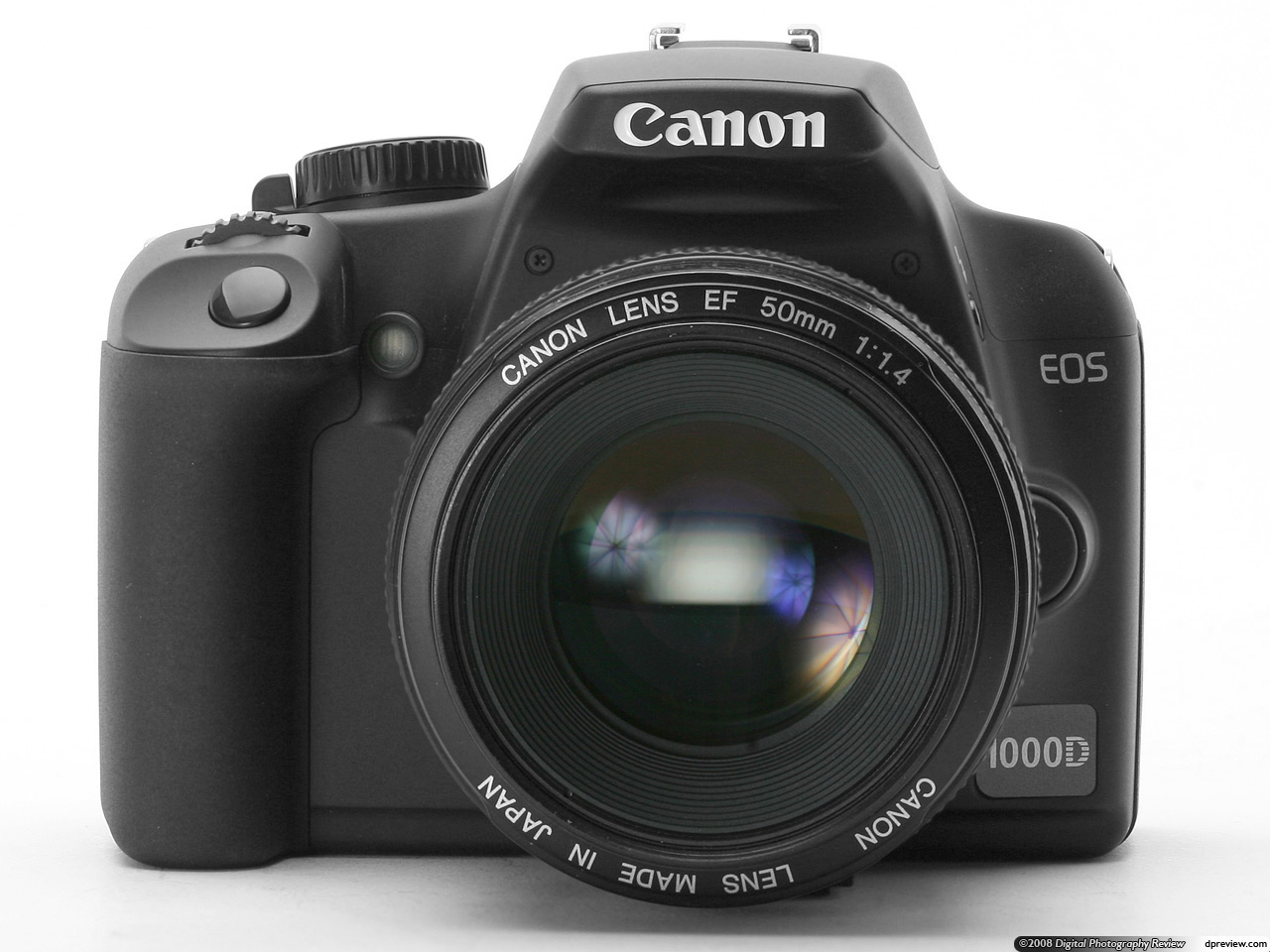 Rreview based on a production Canon EOS 1000D