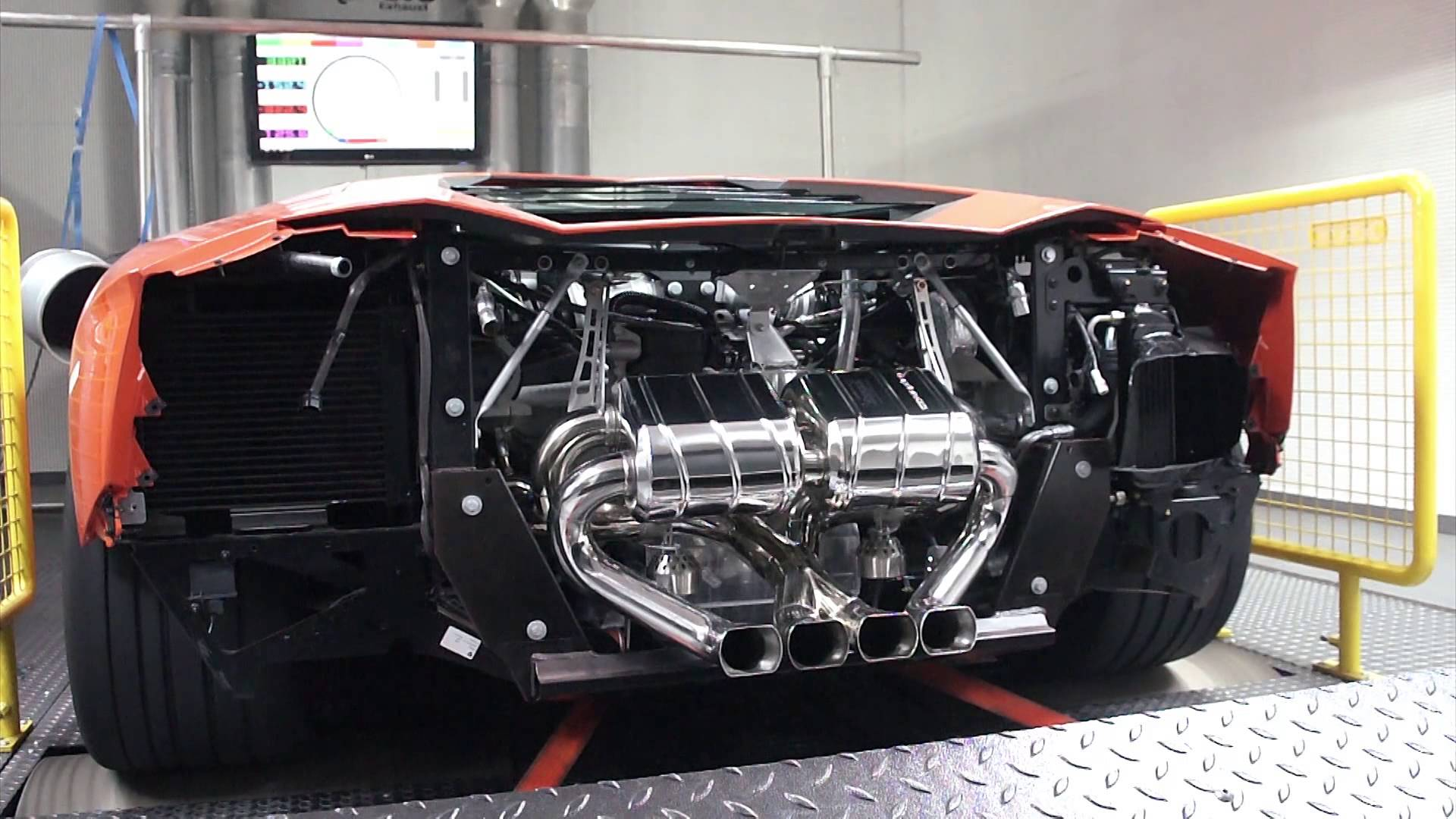 Capristo Lamborghini Aventador Power Measurement