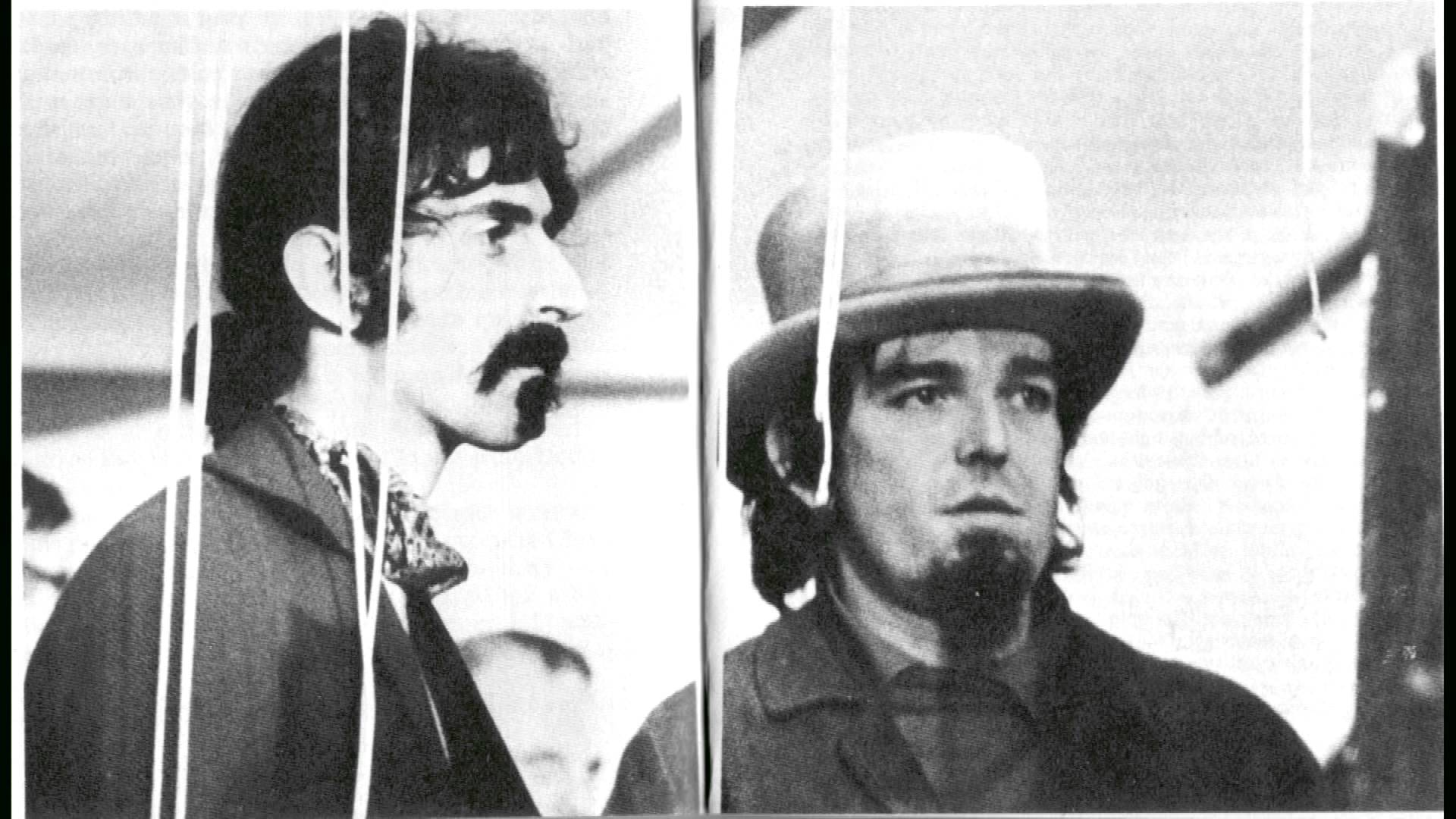 Frank Zappa and Captain Beefheart