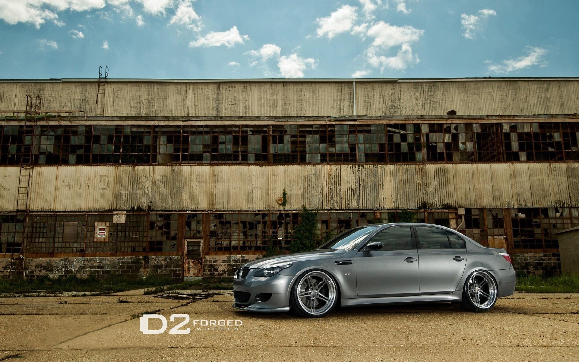 BMW M5 D2Forged Wheels Tuning Car HD Wallpaper