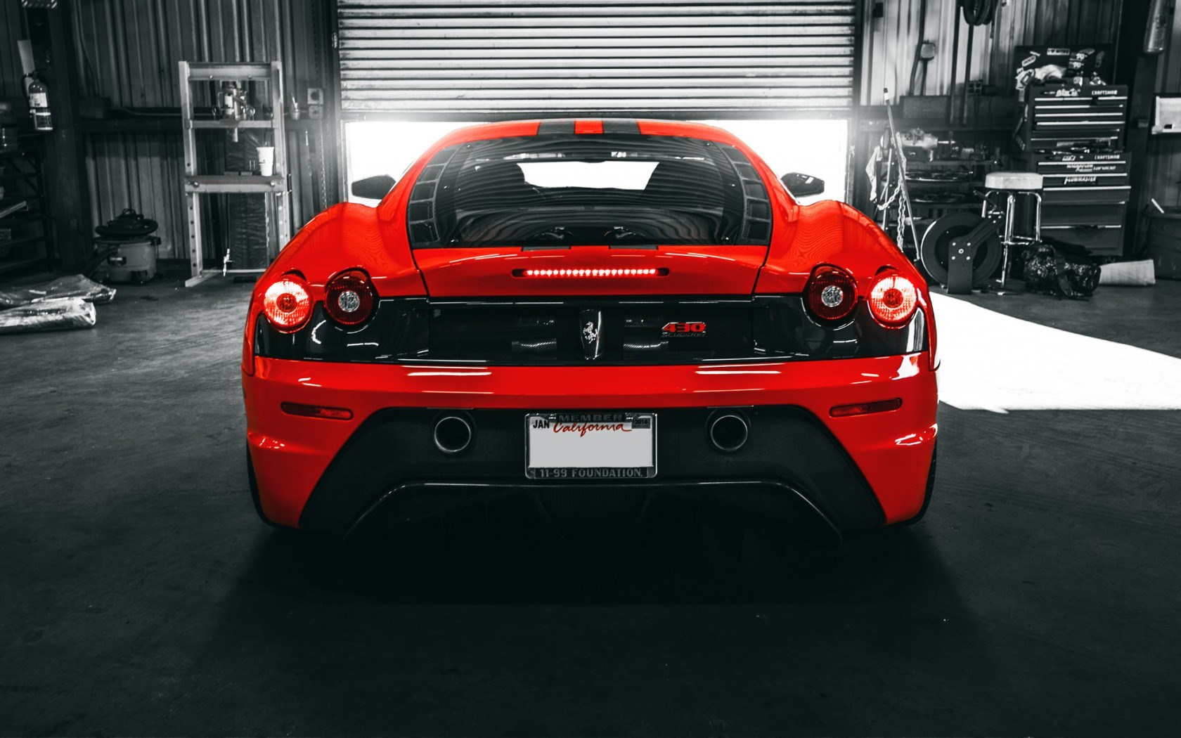 Ferrari F430 Scuderia Car Wheels Tuning Rear