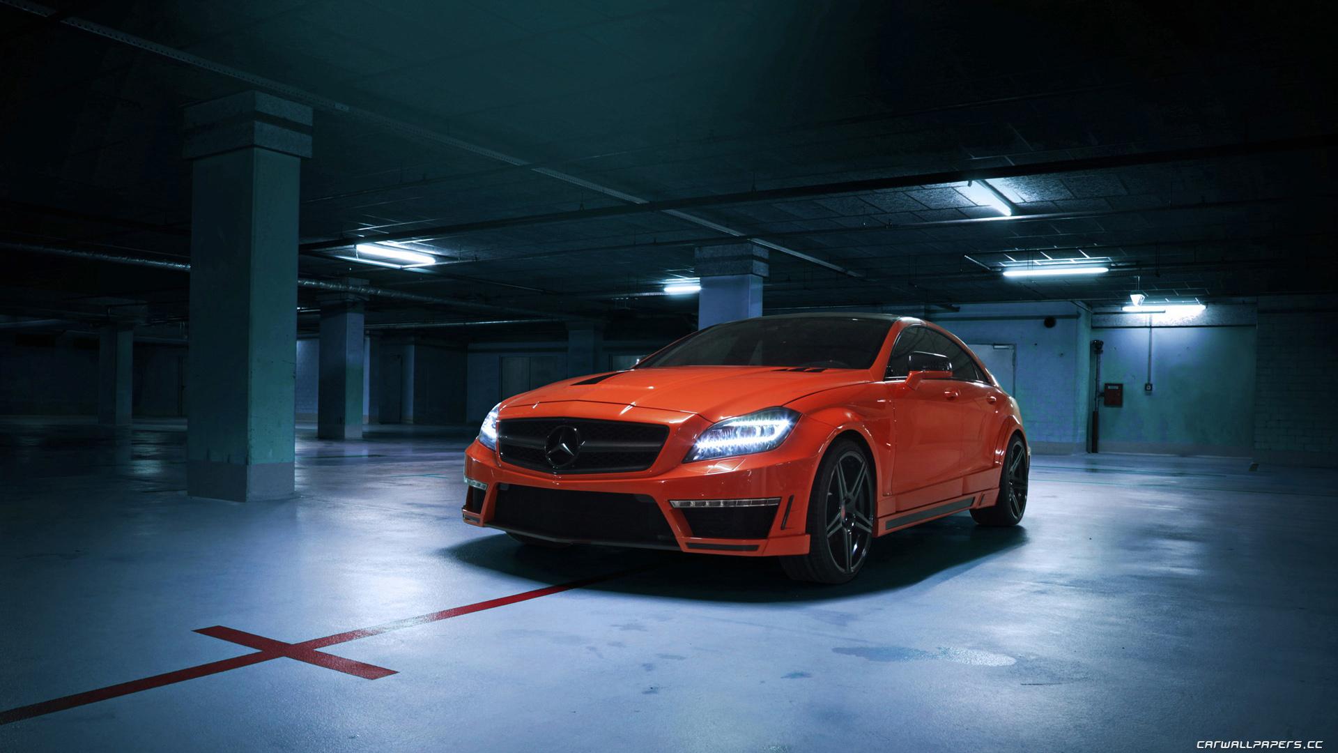 Car Mercedes-Benz CLS 63 AMG Tuning