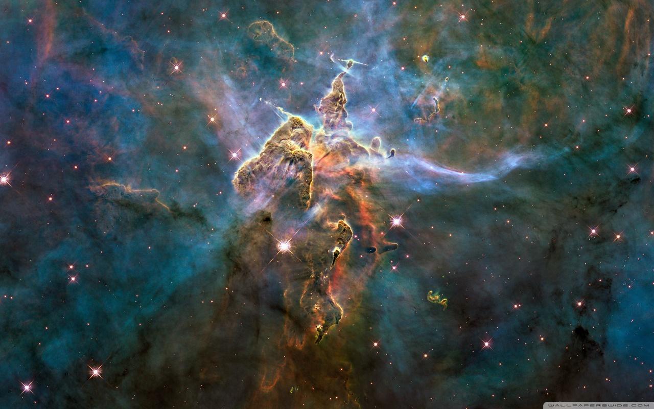 Carina nebula hd