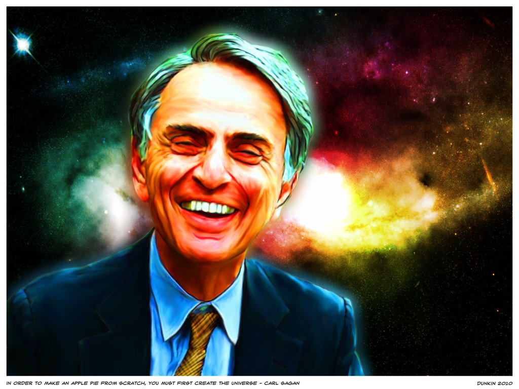 In order to make Carl Sagan... by MrEchs ...