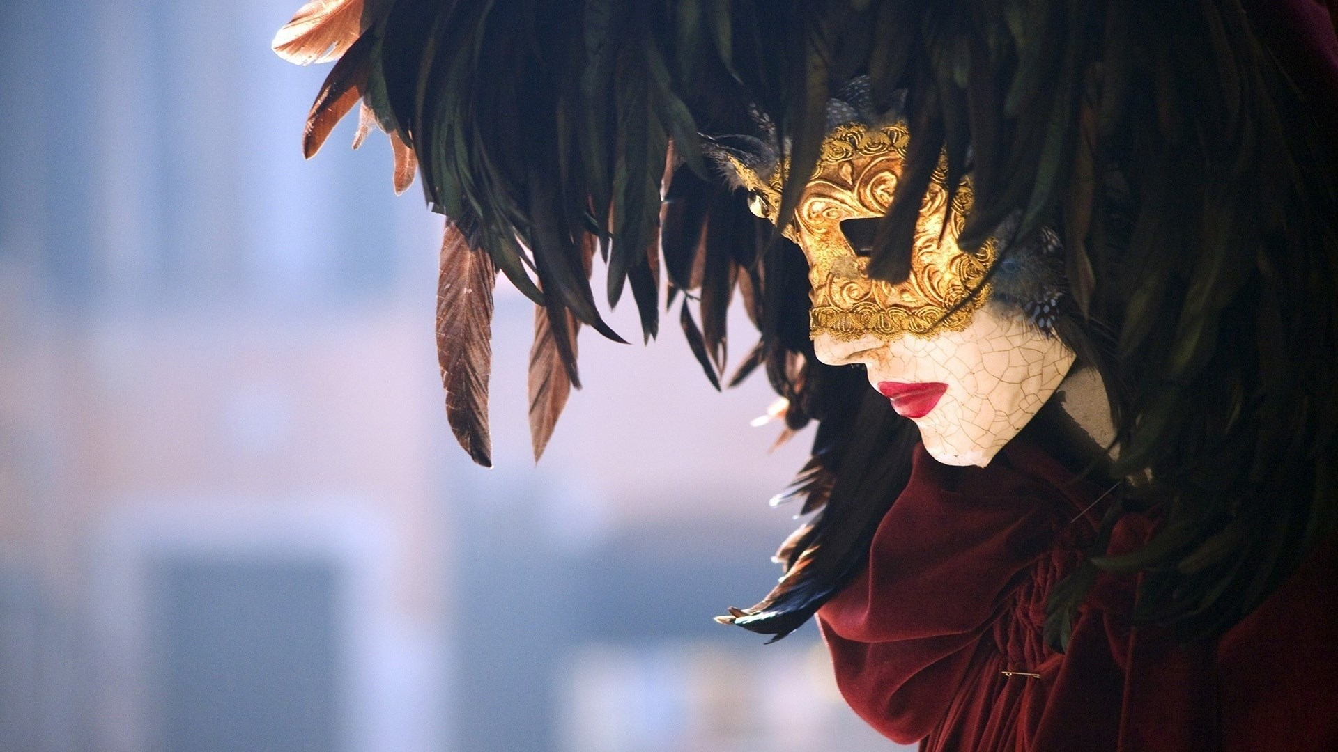 Carnival of Venice Girl Mask