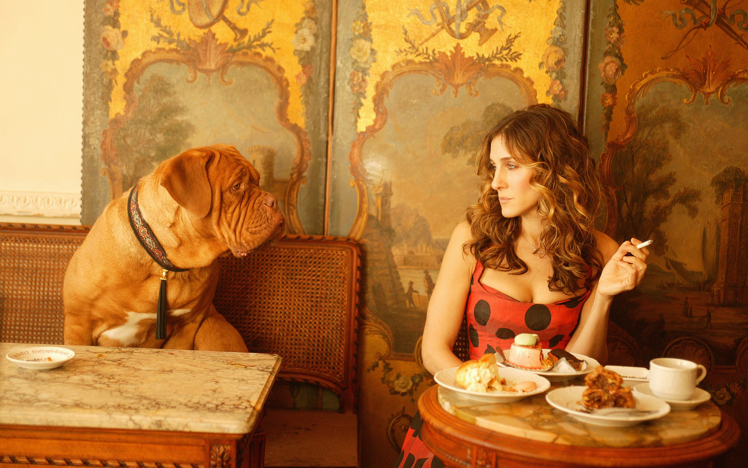 Carrie Bradshaw Cafe