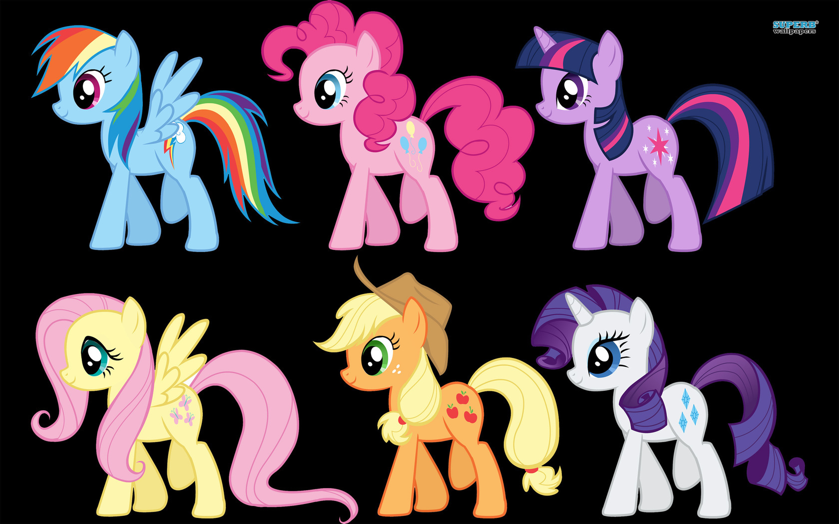 My Little Pony Friendship is Magic wallpaper 1680x1050