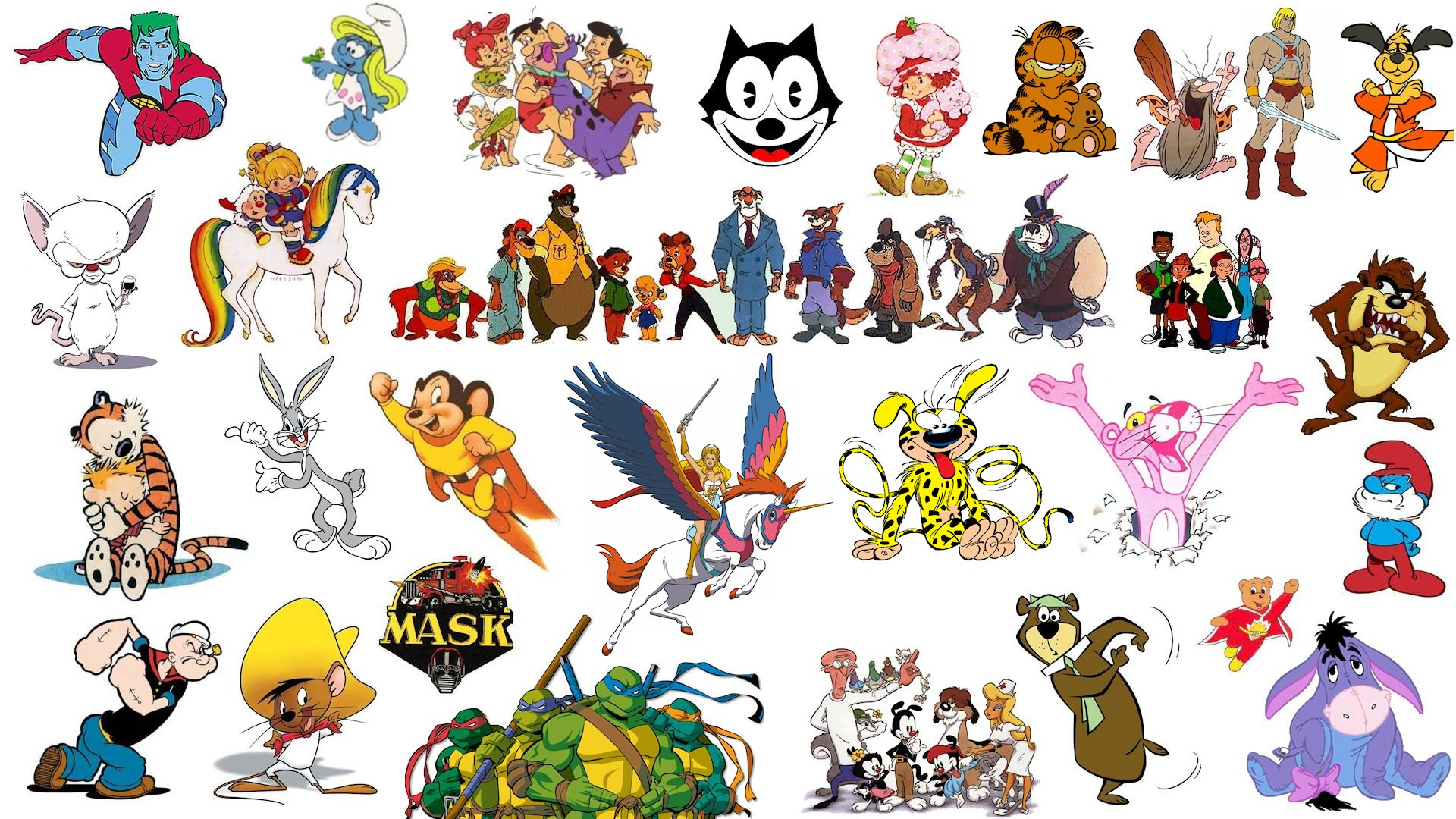 Classic Cartoons - Wallpaper