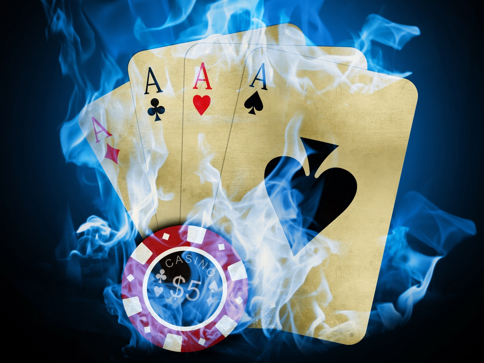 Casino poker aces Wallpaper in 1600x1200 Normal